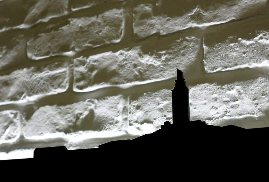 skyline torre de hercules