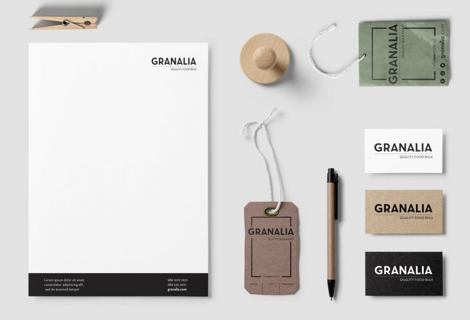 Diseño Imagen Corporativa Granalia