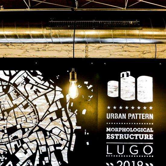 Mapa Morforlógico de La Pepita Burger Bar Lugo