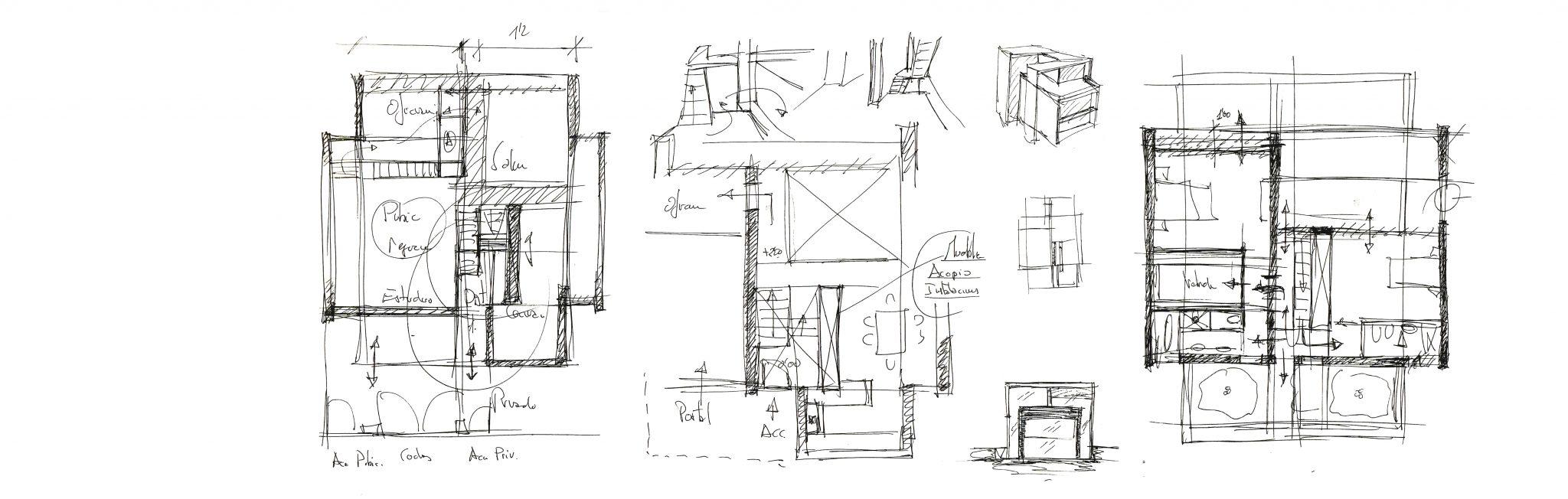 estudio de arquitectura galicia proyecto de vivienda unifamiliar